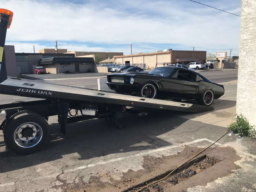 Towing Service for a Dodge Charger